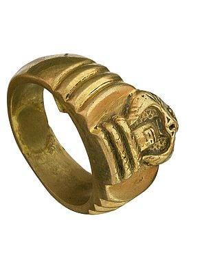 Shiva Linga Ring