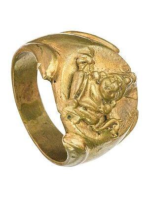 Lord Vishnu Ring