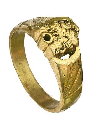Shiva Head Ring