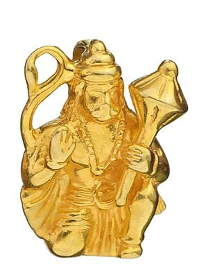 Hanuman's Blessings In A Pendant