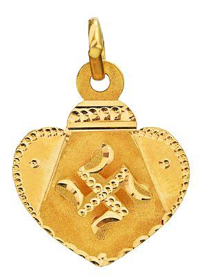 Auspicious Swastika Pendant