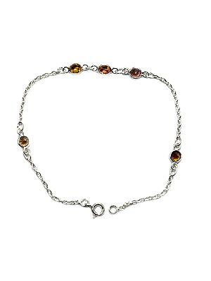 Faceted Tourmaline Bracelet