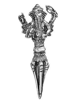 Lord Ganesha Phurpa Pendant