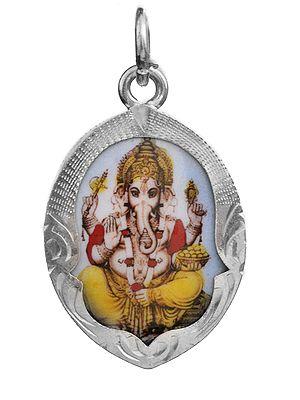 Blessing Ganesha Pendant
