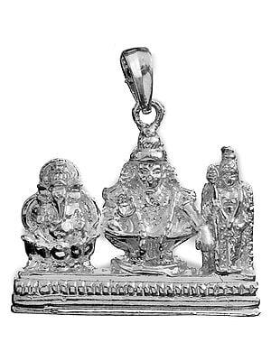 Pendant of Ganesha, Ayyappan and Murugan