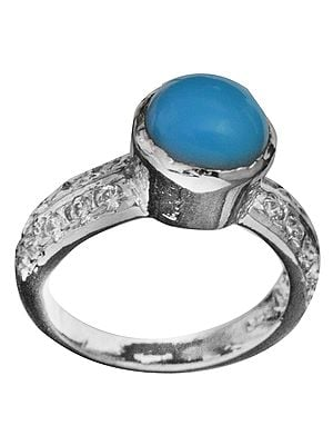 Guardian Angel Turquoise Ring