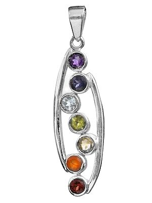 Faceted Gemstone Pendant