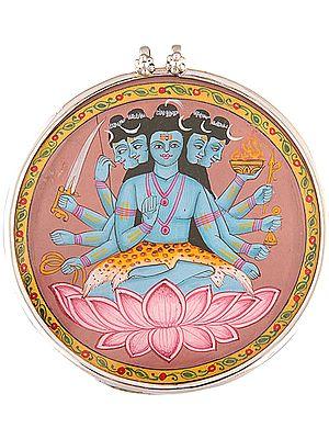 Panch-mukha Sadashiva pendant