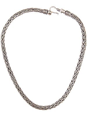 Sterling Snake Necklace