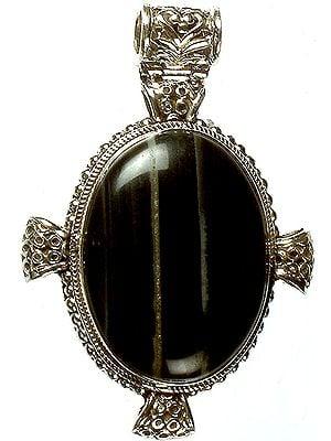 Agate Oval Pendant