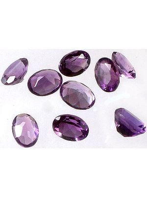 Amethyst 8 x 6 mm Ovals (Price Per 5 Pcs)