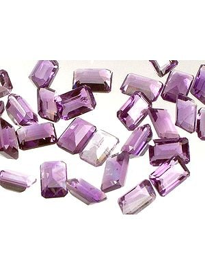 Amethyst mm Octagonals (Price Per 5 Pieces)