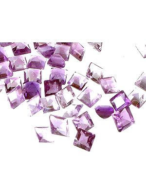 Amethyst mm Squares (Price Per 6 Pieces)