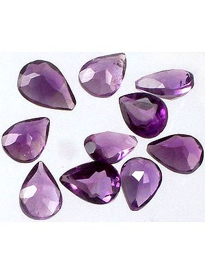 Amethyst Pears (Price Per 5 Pieces)