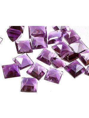 Amethyst Squares (Price Per 10 Pieces)