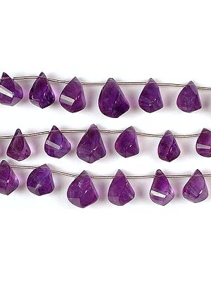 Amethyst Twisted Briolette