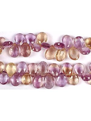 Ametrine Faceted Briolette