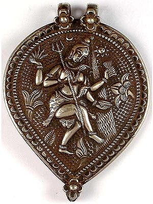 Antiquated Dancing Shiva Pendant
