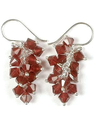 Australian Crystal Bunch Earrings