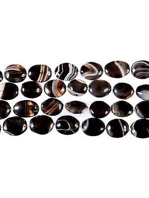 Banded Black Onyx Ovals