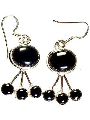 Black Onyx Earrings