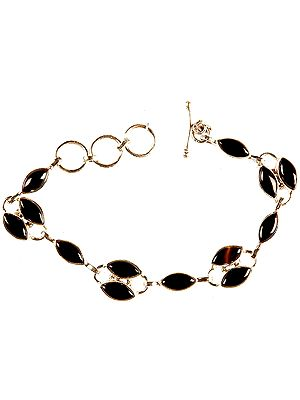 Black Onyx Marquis Bracelet