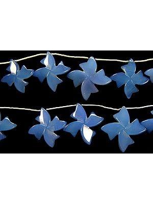 Blue Chalcedony Flowers