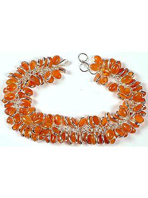 Carnelian Bunch Bracelet