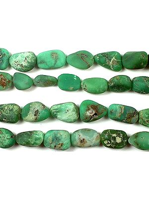 Chrysoprase Frosted Tumbles