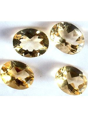 Citrine 8 x 6 mm Oval (Price Per 10 Pieces)