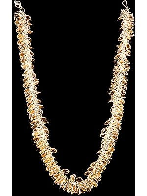 Faceted Citrine Bunch Necklace