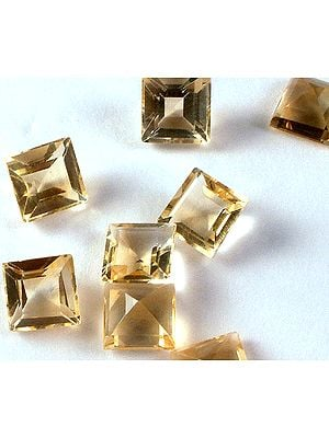 Citrine mm Size Squares