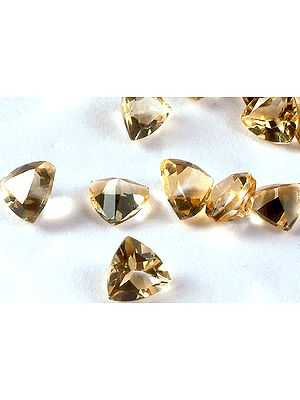 Citrine mm Trillions (Price Per Pair)