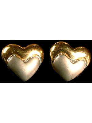 Designer Heart Earrings