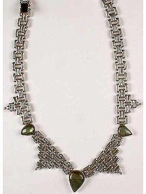Designer Labradorite Necklace