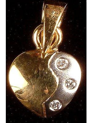 Diamond Valentine Pendant
