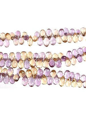 Faceted Ametrine Drops