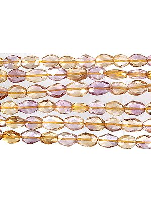 Faceted Ametrine Ovals