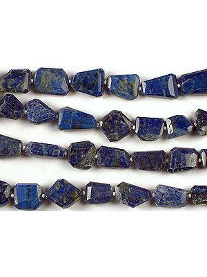 Faceted Lapis Lazuli Tumbles