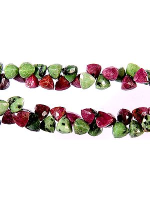 Faceted Ruby Zoisite Trillions