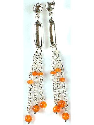 Fine Carnelian Earrings
