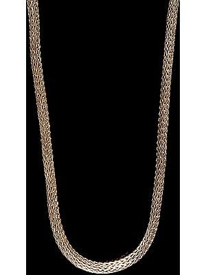 Fine Flexible Sterling Snake Chain