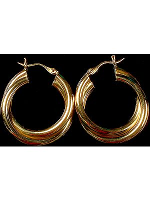 Finely Crafted Hoop Earrings