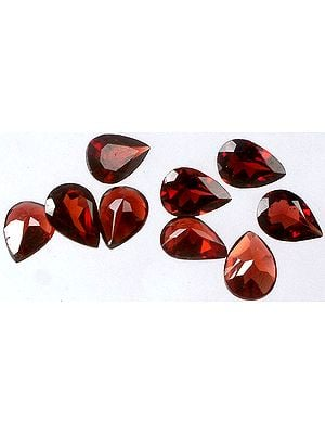 Garnet mm Pears (Price Per Pair)