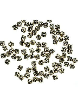 Gold Plated Beads<br>(Price Per Six Pieces)