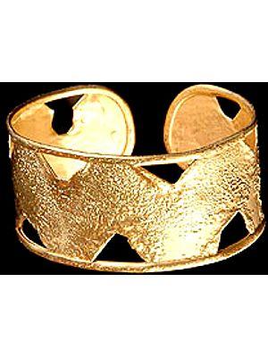 Gold Plated Cuff Bangle