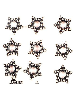 Granulated Star Beads (Price Per Eight Pieces)