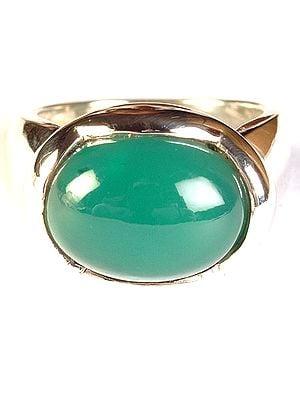 Green Onyx Ring