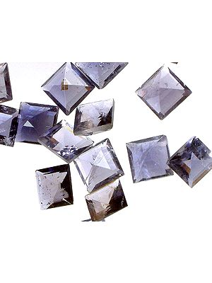Iolite mm Squares (Price Per 5 Pieces)