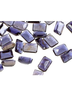 Iolite mm Octagonals (Price Per 10 Pieces)